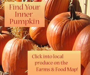 Find Your Inner Pumpkin: Click into locally grown produce on the Farms and Food Map!