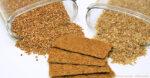buckwheat groats, flakes and crackers. Eating buckwheat may help us live longer.
