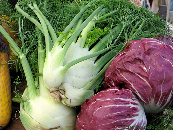 Ladysmith, Nanaimo & Gabriola Farms A-Z Directory. Fennel and red cabbage