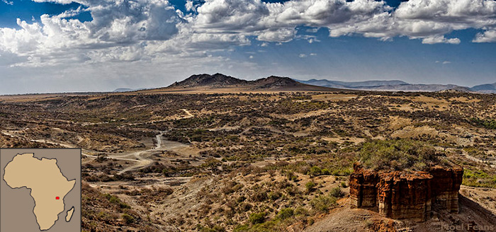 Olduvai Gorge in Tanzania where humans evolved. Did cooking make us human?