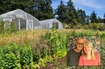 Bernie and Marti Wood at Two Wings Farm Organic Seeds in Metchosin
