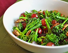 Broccoli Grape Salad - Recipes and Cooking Tips for Seasonal Winter Vegetables
