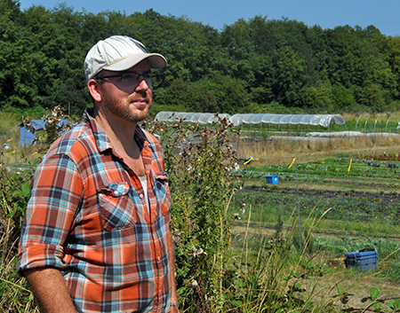Who are the 21st century farmers? Chris Margetts at the Fickle Fig Farm.