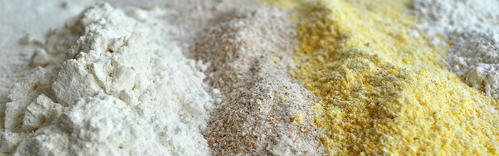 traditional and alternative gluten-free flours