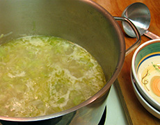 Leek & Potato Soup - Recipes and Cooking Tips for Seasonal Winter Vegetables