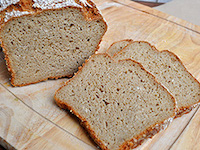 Sliced Oat Bread