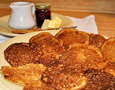 Pumpkin Pancakes - Recipes and Cooking Tips for Seasonal Winter Vegetables