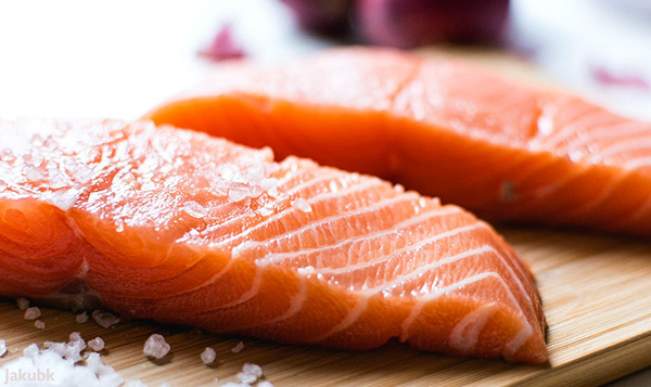 Salmon Filets. Vitamin D: A Low-Cost Way to Reduce the Severity of COVD-19.